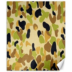 Army Camouflage Pattern Canvas 8  x 10