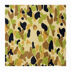 Army Camouflage Pattern Medium Glasses Cloth (2-Side)