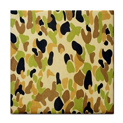 Army Camouflage Pattern Face Towel
