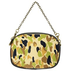 Army Camouflage Pattern Chain Purses (One Side)
