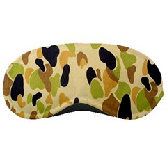 Army Camouflage Pattern Sleeping Masks