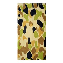 Army Camouflage Pattern Shower Curtain 36  X 72  (stall)