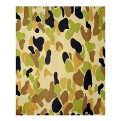 Army Camouflage Pattern Shower Curtain 60  x 72  (Medium)