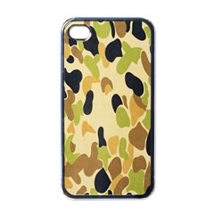 Army Camouflage Pattern Apple iPhone 4 Case (Black)