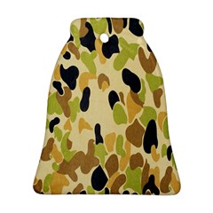 Army Camouflage Pattern Bell Ornament (Two Sides)