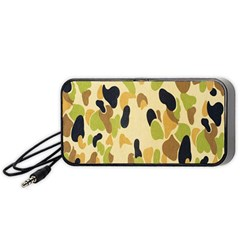 Army Camouflage Pattern Portable Speaker (Black)