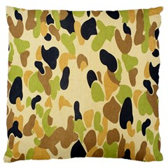 Army Camouflage Pattern Large Cushion Case (Two Sides)