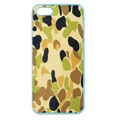 Army Camouflage Pattern Apple Seamless iPhone 5 Case (Color)