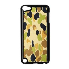 Army Camouflage Pattern Apple iPod Touch 5 Case (Black)