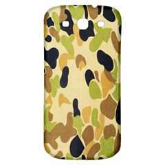 Army Camouflage Pattern Samsung Galaxy S3 S III Classic Hardshell Back Case