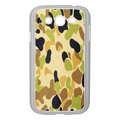 Army Camouflage Pattern Samsung Galaxy Grand Duos I9082 Case (white)