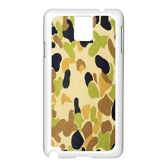 Army Camouflage Pattern Samsung Galaxy Note 3 N9005 Case (white)