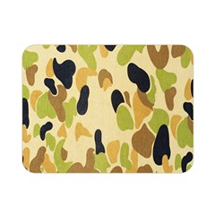 Army Camouflage Pattern Double Sided Flano Blanket (Mini)
