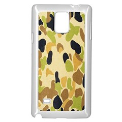 Army Camouflage Pattern Samsung Galaxy Note 4 Case (white)