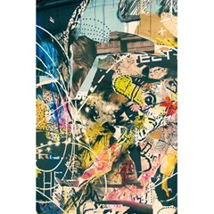 Art Graffiti Abstract Vintage 5.5  x 8.5  Notebooks