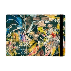 Art Graffiti Abstract Vintage Apple Ipad Mini Flip Case