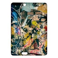 Art Graffiti Abstract Vintage Amazon Kindle Fire Hd (2013) Hardshell Case