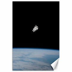 Astronaut Floating Above The Blue Planet Canvas 20  x 30