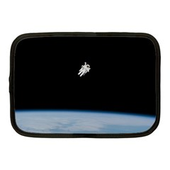 Astronaut Floating Above The Blue Planet Netbook Case (Medium)