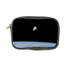 Astronaut Floating Above The Blue Planet Coin Purse