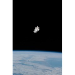 Astronaut Floating Above The Blue Planet 5.5  x 8.5  Notebooks