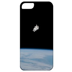 Astronaut Floating Above The Blue Planet Apple iPhone 5 Classic Hardshell Case