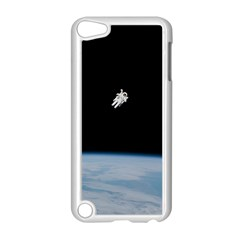 Astronaut Floating Above The Blue Planet Apple Ipod Touch 5 Case (white)