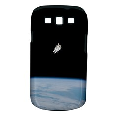 Astronaut Floating Above The Blue Planet Samsung Galaxy S III Classic Hardshell Case (PC+Silicone)