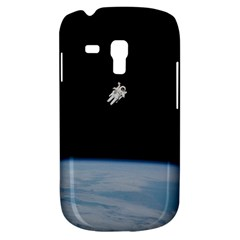 Astronaut Floating Above The Blue Planet Galaxy S3 Mini