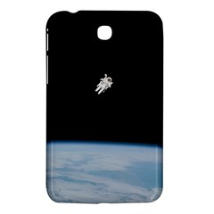 Astronaut Floating Above The Blue Planet Samsung Galaxy Tab 3 (7 ) P3200 Hardshell Case
