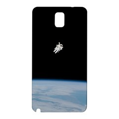 Astronaut Floating Above The Blue Planet Samsung Galaxy Note 3 N9005 Hardshell Back Case