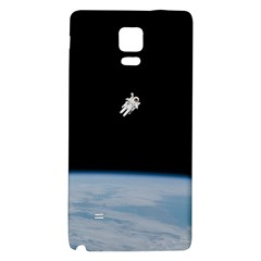 Astronaut Floating Above The Blue Planet Galaxy Note 4 Back Case