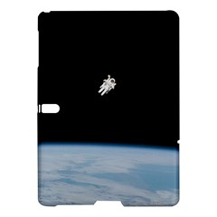 Astronaut Floating Above The Blue Planet Samsung Galaxy Tab S (10 5 ) Hardshell Case