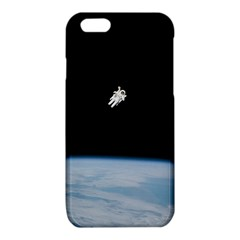 Astronaut Floating Above The Blue Planet iPhone 6/6S TPU Case