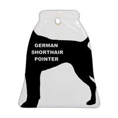 German Shorthaired Pointer Name Silo Bell Ornament (Two Sides)