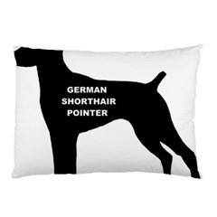 German Shorthaired Pointer Name Silo Pillow Case (Two Sides)
