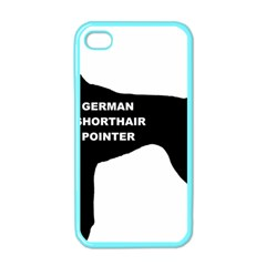 German Shorthaired Pointer Name Silo Apple iPhone 4 Case (Color)