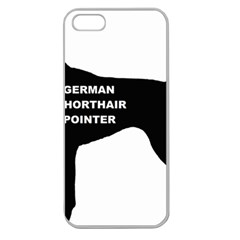 German Shorthaired Pointer Name Silo Apple Seamless iPhone 5 Case (Clear)