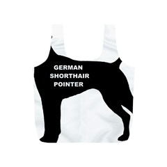 German Shorthaired Pointer Name Silo Full Print Recycle Bags (S)