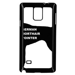 German Shorthaired Pointer Name Silo Samsung Galaxy Note 4 Case (Black)