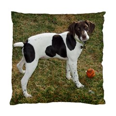 German Short Haired Pointer Puppy Standard Cushion Case (Two Sides)