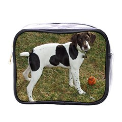 German Short Haired Pointer Puppy Mini Toiletries Bags