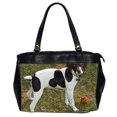 German Short Haired Pointer Puppy Office Handbags (2 Sides)