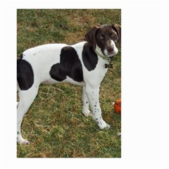 German Short Haired Pointer Puppy Large Garden Flag (Two Sides)