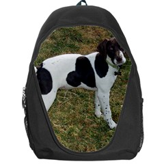 German Short Haired Pointer Puppy Backpack Bag