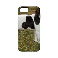 German Short Haired Pointer Puppy Apple iPhone 5 Classic Hardshell Case (PC+Silicone)