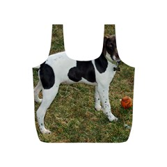 German Short Haired Pointer Puppy Full Print Recycle Bags (S)