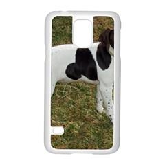 German Short Haired Pointer Puppy Samsung Galaxy S5 Case (White)