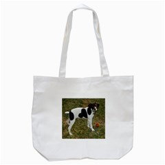 German Short Haired Pointer Puppy Tote Bag (White)