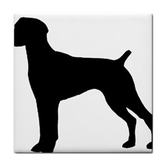 German Shorthaired Pointer Silo Tile Coasters